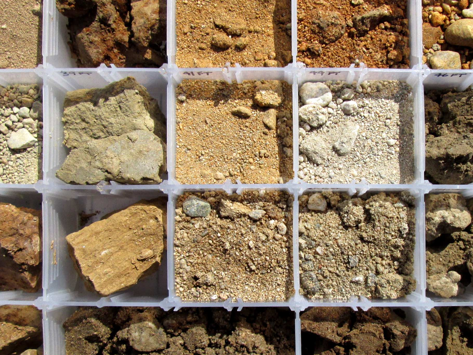 Various Soil Samples